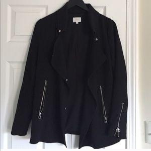Aritzia mayet black moto jacket